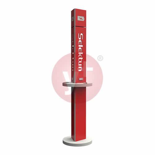 Kiosco Publicitario para Carga de Celulares y Tabletas