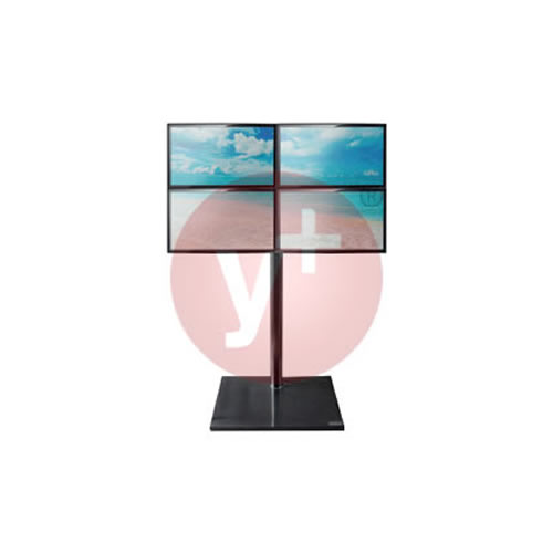 """Pedestal para 4 Monitores de 22"""""""